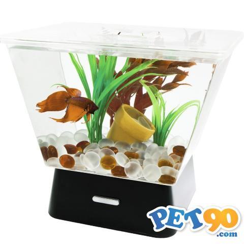 Aquario Tetra de Acrilico Led Tank para Peixes Betta