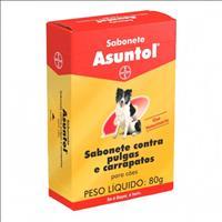 Sabonete Bayer Ectoparasiticida Asuntol - 80 gr