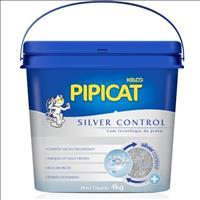 Areia Sanitária Silver Control Pipicat - 4 Kg