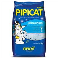 Areia Sanitária Sílica Cristal Pipicat - 1,6kg