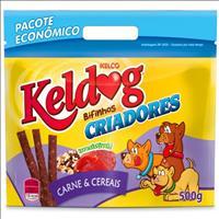 Bifinho Keldog Sabor Carne e Cereais Raças Pequenas - 500 g