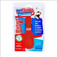 Brinquedo Mordedor Escova Pet Games - Vermelho Brinquedo Mordedor Escova Pet Games Vermelho - Tam. P