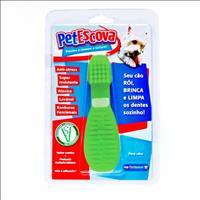 Brinquedo Mordedor Escova Pet Games - Verde Brinquedo Mordedor Escova Pet Games Verde - Tam. P