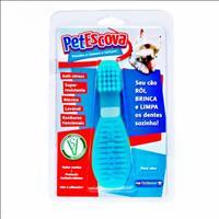 Brinquedo Mordedor Escova Pet Games - Azul Brinquedo Mordedor Escova Pet Games Azul - Tam. M