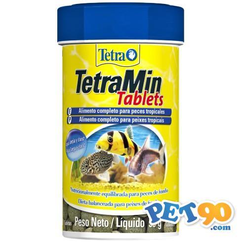 Ração Tetra Min Tablets em Tabletes - 55gr
