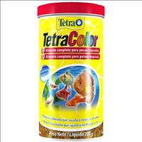 Ração Tetra Color Flakes em Flocos - 200gr