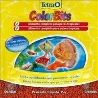 Ração Tetra ColorBits Granules em Grânulos no Sachê - 15gr