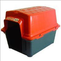 Casa Furacão Pet de Plástico - Vermelho Casa Furacão Pet de Plástico Vermelho - Tam. 4