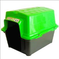 Casa Furacão Pet de Plástico - Verde Casa Furacão Pet de Plástico Verde - Tam. 2