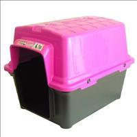 Casa Furacão Pet de Plástico - Rosa Casa Furacão Pet de Plástico Rosa - Tam. 2
