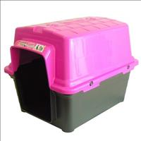 Casa Furacão Pet de Plástico - Rosa Casa Furacão Pet de Plástico Rosa - Tam. 1