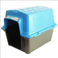 Casa Furacão Pet de Plástico - Azul Casa Furacão Pet de Plástico Azul - Tam. 3