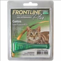 Anti Pulgas e Carrapatos Frontline Plus para Gatos - 1 Unidade