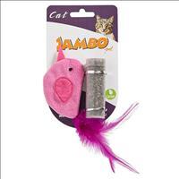 Brinquedo Jambo Bird Catnip Tube
