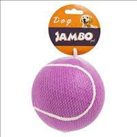 Brinquedo Jambo Bola de Tênis Roxa Big