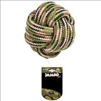 Brinquedo Jambo Mordedor Bola Militar - Grande