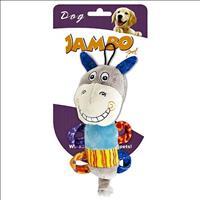 Brinquedo Jambo Mordedor de Pelúcia Smile Cavalinho