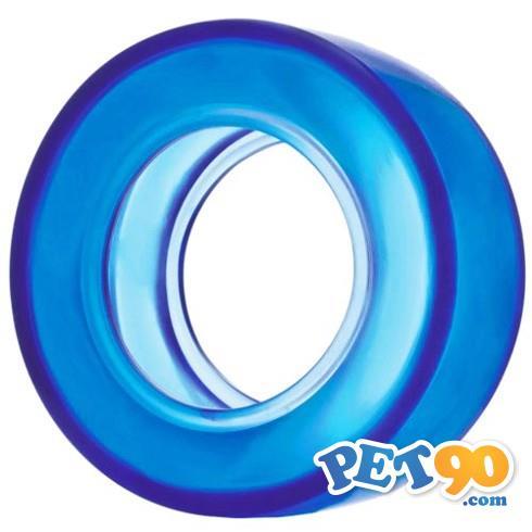 Brinquedo Jambo Pneu Transparente - Azul