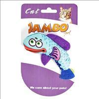 Brinquedo Mordedor Jambo Caricat Peixe para Gatos