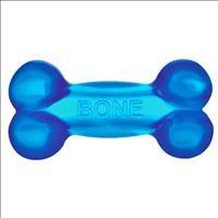 Brinquedo Jambo Bone Osso Transparente com Som - Azul Brinquedo Jambo Bone Osso Transparente com Som