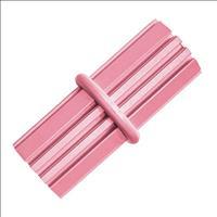 Brinquedo Interativo Kong Puppy Teething Stick com Dispenser para Ração ou Petisco - Rosa Brinquedo