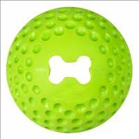Brinquedo Bola Rogz Treat Gumz - Verde Brinquedo Bola Rogz Treat Gumz Verde - Médio