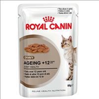 Ração Royal Canin Sachê Feline Health Nutrition Ageing +12 para Gatos Idosos - 85 g