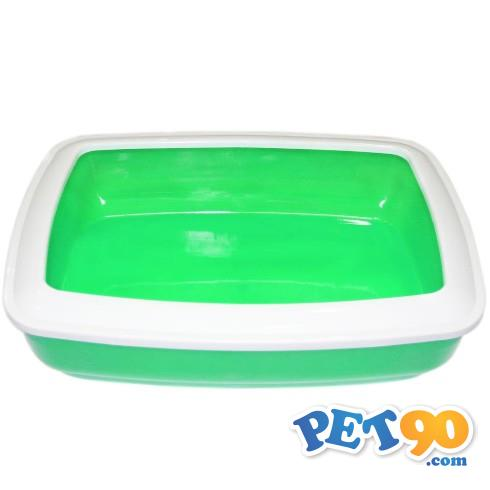 Banheiro Pawise para Gatos - Verde