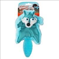 Brinquedo Raposa Pawise de Pelúcia e Borracha - Azul Brinquedo Raposa Pawise de Pelúcia e Borracha A