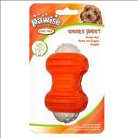 Brinquedo Pawise Mordedor de Plástico Osso - Laranja