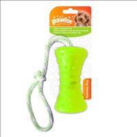 Brinquedo Pawise Mordedor de Borracha com Corda Play & Chew - Verde
