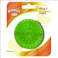 Brinquedo Pawise Bola de Borracha com Dispenser para Petisco - Verde Brinquedo Pawise Bola de Borrac