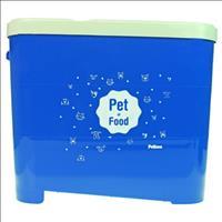 Porta Ração Pet Love para Armazenar até 15kg - Azul