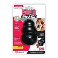 Brinquedo Interativo Kong Extreme com Dispenser para Ração ou Petisco - Preto Brinquedo Interativo K