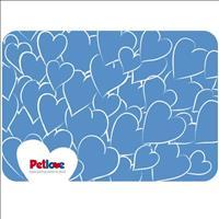 Jogo Americano Pet Love - Azul Claro