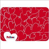 Jogo Americano Pet Love - Vermelho