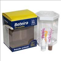Kit Beteira Mr Pet Sextavada de 1 Litro - Branco