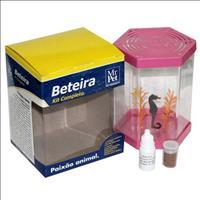 Kit Beteira Mr Pet Sextavada de 1 Litro - Rosa