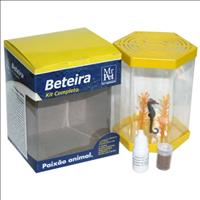 Kit Beteira Mr Pet Sextavada de 1 Litro - Amarelo