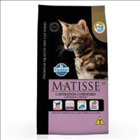 Ração Farmina Matisse Cordeiro para Gatos Adultos Castrados - 800gr