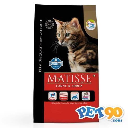 Ração Farmina Matisse Carne e Arroz para Gatos Adultos - 800gr