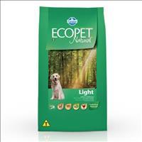 Ração Farmina Ecopet Natural Light para Cães Adultos de Raças Médias e Grandes - 15kg