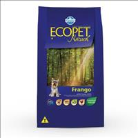 Ração Farmina Ecopet Natural Frango para Cães Adultos de Raças Pequenas - 15kg