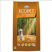 Ração Farmina Ecopet Original Carne e Frango para Cães Adultos - 15 Kg