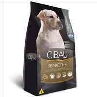 Ração Farmina Cibau Senior +6 para Cães de Raças Médias e Grandes com 6 Anos ou Mais de Idade - 12kg