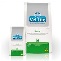 Ração Farmina Vet Life Renal para Gatos Adultos com Problemas Renais - 400 g