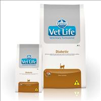 Ração Farmina Vet Life Diabetic para Gatos Adultos Diabéticos - 2kg