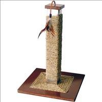 Brinquedo Arranhador Jambo Aço Escovado Poste Quadrado