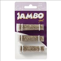 Refil Jambo de Catnip com 3 Tubos