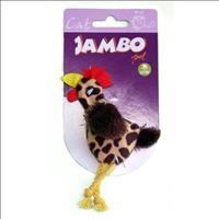 Brinquedo Jambo Galo Funny com Catnip